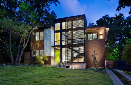 Charles davis smith aia photographer for Modern houses in dallas